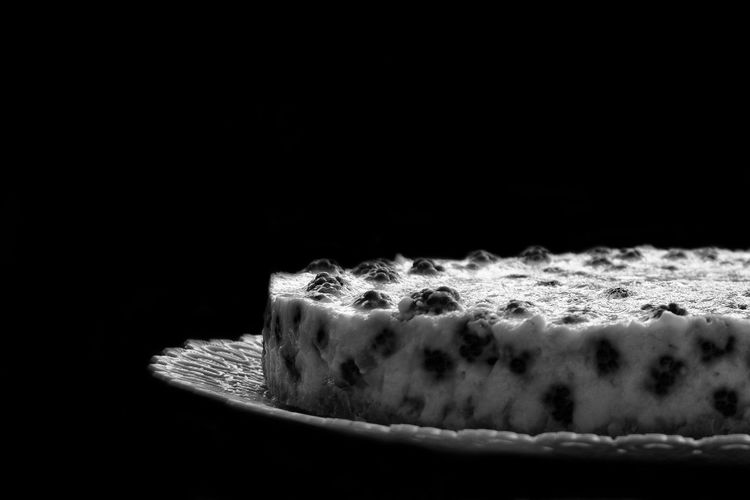 Dessert Natural Light Baked Black And White Black Background Blackandwhite Blackberry Cake Close-up Food Food And Drink Freshness Home Made Food Indoors  No People Plate Ready-to-eat Studio Shot Sweet Food