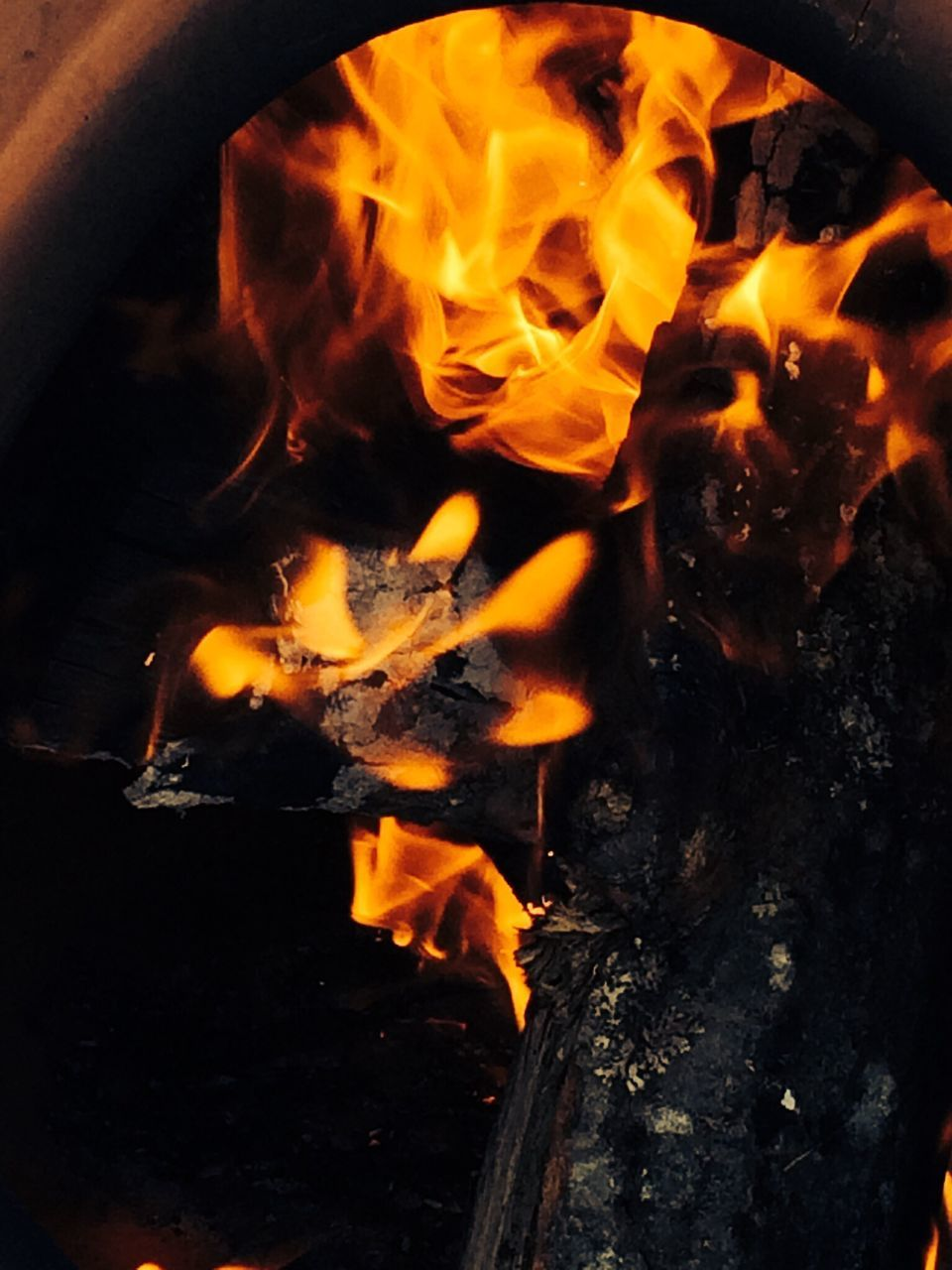 fire - natural phenomenon, flame, burning, heat - temperature, glowing, night, fire, outdoors, bonfire, no people, motion, fire pit, close-up