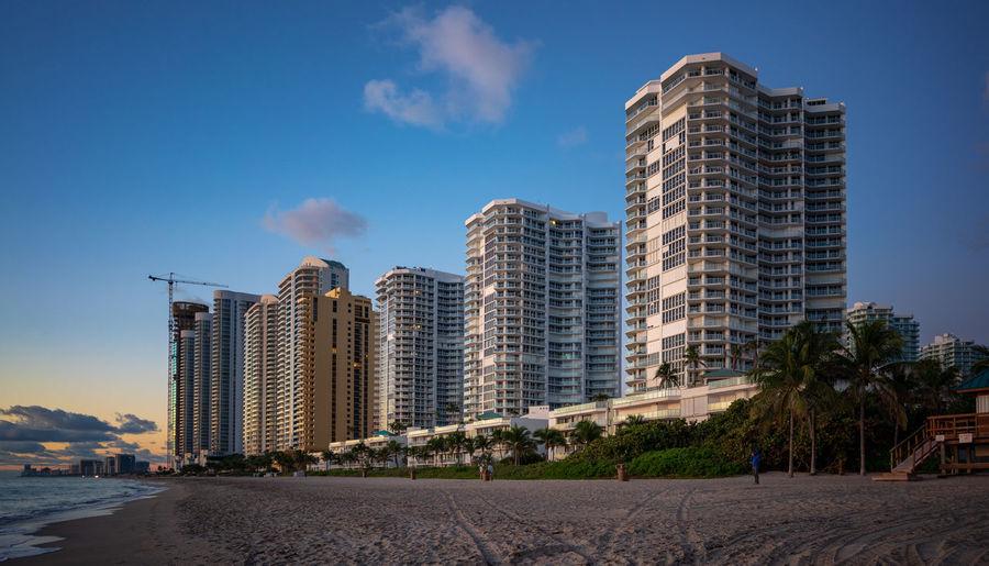 Sunny Isles beach, Miami Building Exterior Architecture Sky Built Structure Building Skyscraper Modern Cloud - Sky Landscape Outdoors Urban Skyline Miami Miami Beach Sunny Isles Beach Modern Architecture Sea Beach Sea Front USA Travel Destinations Luxury