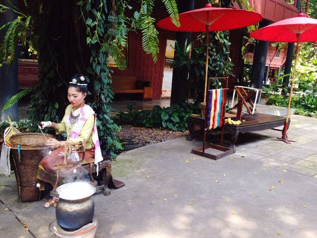 Thai silk Thailand Bangkok