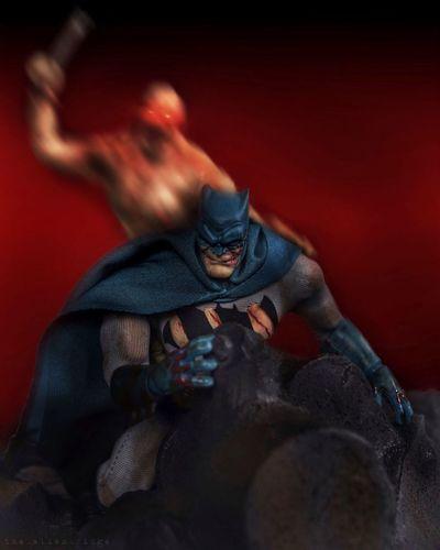 On death's doorstep. TheDarkKnightReturns Batman Toyphotography Toys Toycommunity Toy Photography Nikon Nikonphotography Photoshop
