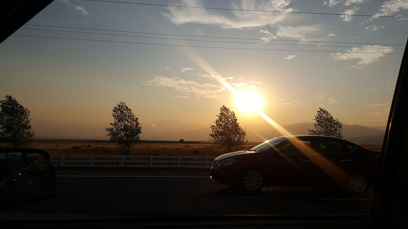Zoom zoom Sunset Sun Sunlight No People Sky Indoors  Nature Day Pixelated Sunrays Nature Countryside Country Road Country Living Driving