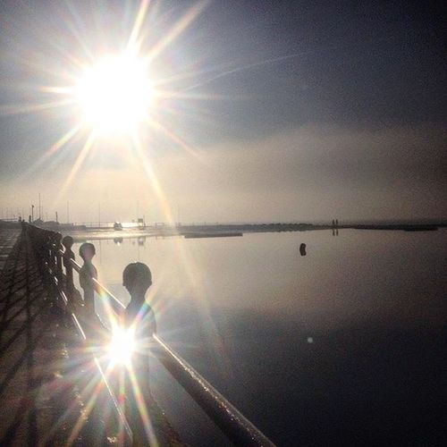 Reflection Sparkle West Kirby UK Enjoying Life Lens Flare Nature No People Outdoors Silhouette Sky Sun Sun Sparkle Sun Sparkling On Water Sunbeam Sunlight Sunset Water West Kirby Marine Lake