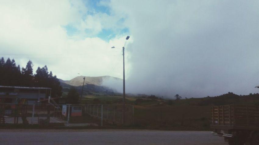 Nubes Y Cielo Much Frio ⛄❄ Aventura