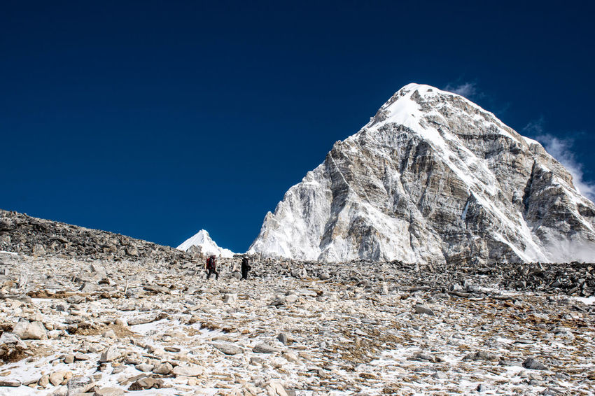 Trekking Nepal Lost In The Landscape Beauty In Nature Blue Clear Sky Landscape Mountain Mountain Range Nature Outdoors Scenics
