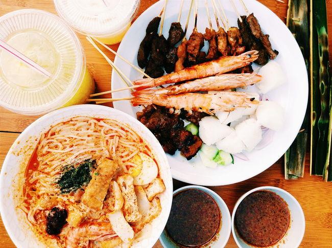 Satay x Laksa Food And Drink Satay Laksa Singapore Foodporn Street Food Worldwide