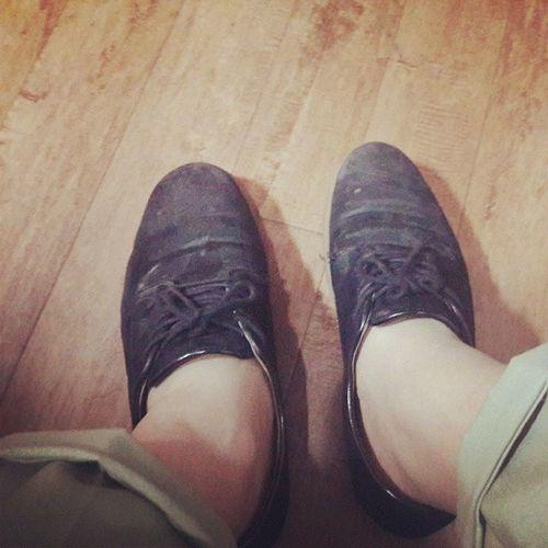 몇년만에 신은 신발반스 Vans 105kg 의 발목onelove