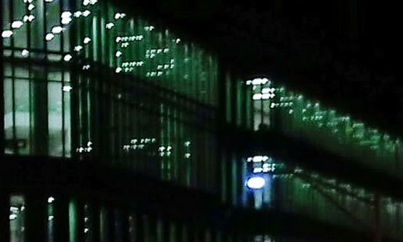 Night Architecture Night Architecture Night Architecture Green Color Indoors  Illuminated No People Day Close-up The Graphic City