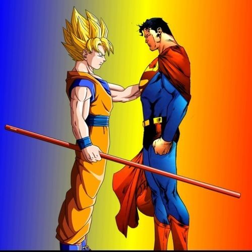 To be honest. Goku and Superman are both powerful. Really interesting fight we have here