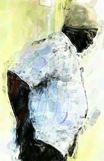 Rethink Homelessness ArtWork Gods Glory Portrait Of A Friend