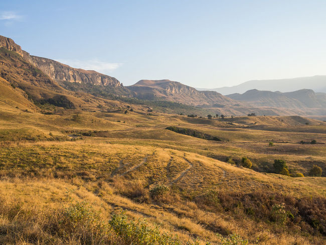 Drakensberg, South Africa Drakensburg Mountains, South Africa, Mountain Hiking Beauty In Nature Day Drakensberg Landscape Mountain Mountain Range Nature No People Outdoors Scenics Sky Tranquil Scene Tranquility