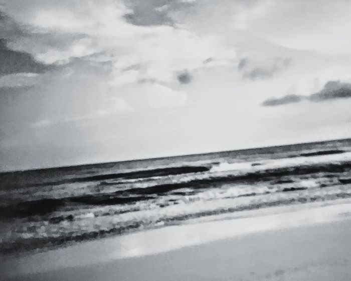 Taken in High Island Texas back in the late eighties Water Sea Nature Reflection Cloud - Sky No People Outdoors Scenics Beach Tranquility Day Wave Landscape Sky Beauty In Nature Low Tide