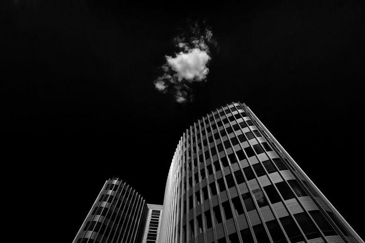 Architecture Urban Geometry Berlin Black And White Blackandwhite Monochrome