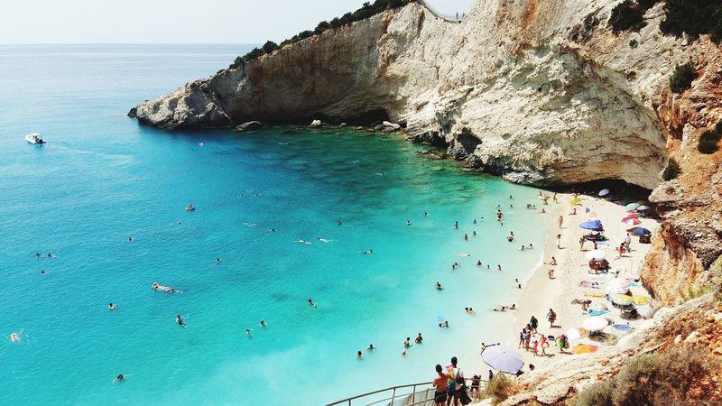 Summeringreece Summer2015 Summer Greece Beach Lefkada Lefkas Portokatsikibeach Portokatsiki
