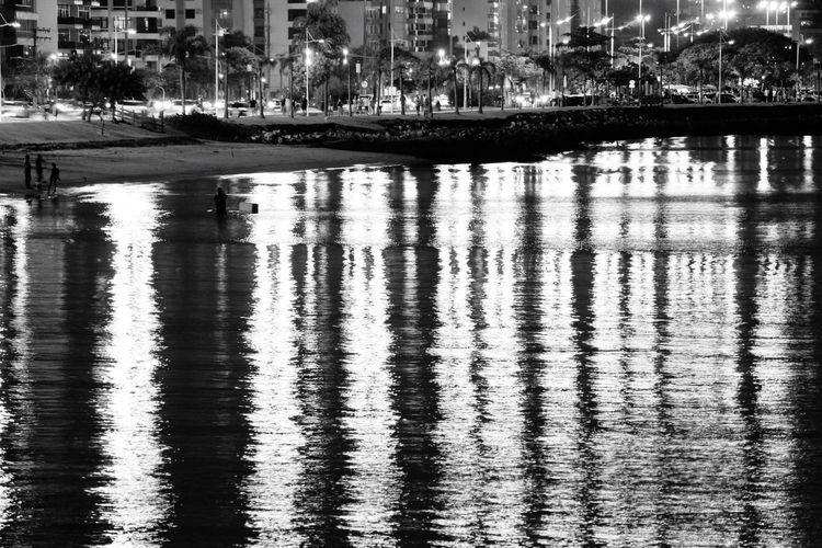 Pivotal Ideas Axis Water Reflections Light Reflection Urban Florianópolis