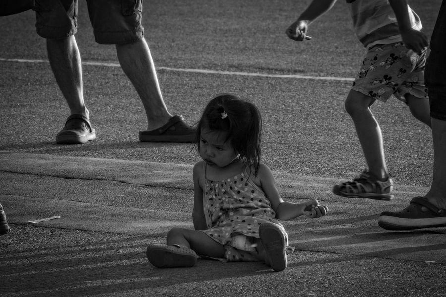 Children Falling Blackandwhite Blackandwhite Photography Enjoying Life Outdoors People Portrait