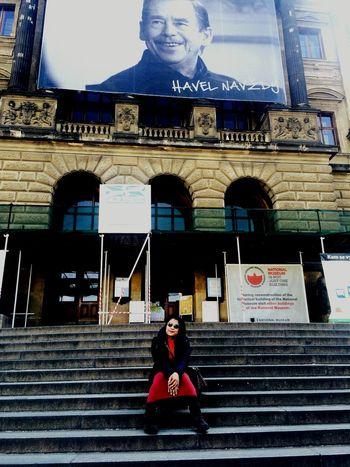 Nuple is On Holidays in Prague Sunnyday Happy Its Me Smile Chunsumonpics
