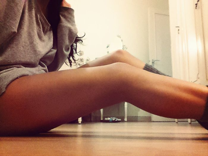 Sexylegs Calves Fitness Oh Ya Know , Just Chilling On The Floor ♥