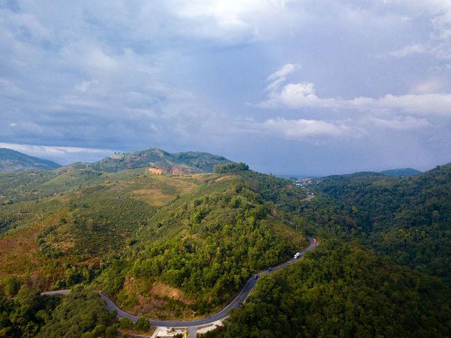 DJI X Eyeem Drone  Beauty In Nature Cloud - Sky Day Dronephotography Landscape Mountain Nature No People Outdoors Range Scenics Sky Skypixel Tree