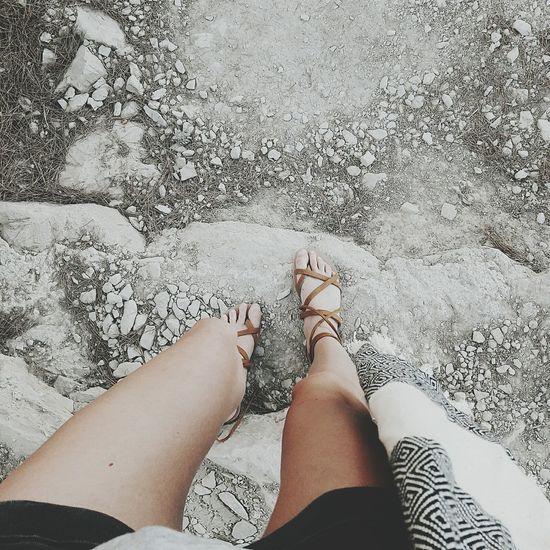 Festival Season Shoes Ootd Gladiatorsandals Beach Tanned Highwaist Coachella2016