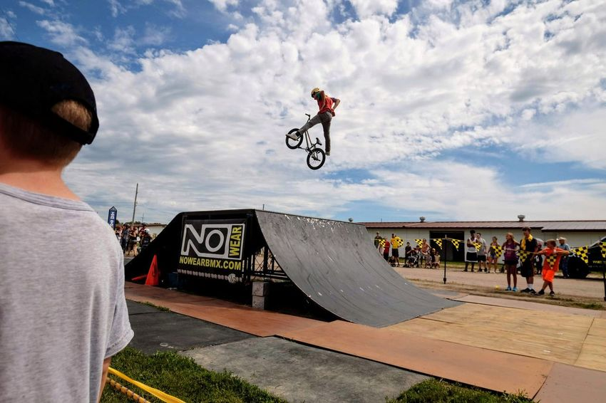 Nowear BMX Team Nebraska State Fair September 1, 2018 Grand Island, Nebraska Camera Work Check This Out Event EyeEm Best Shots FUJIFILM X-T1 Fujinon 10-24mm F4 Getty Images Grand Island, Nebraska Nebraska State Fair NowearBMX Photo Essay Photojournalism RISK Skill  Stunt Action Action Shot  Bicycle Bmx  Extreme Sports Freestyle Leisure Activity Lifestyles Men Mid-air Motion Outdoors People Ramp Real People Recreational Pursuit RISK S.ramos September 2018 Sign Skateboard Park Skill  Spectator Sport Sports Equipment Sports Ramp Stunt Warning Sign