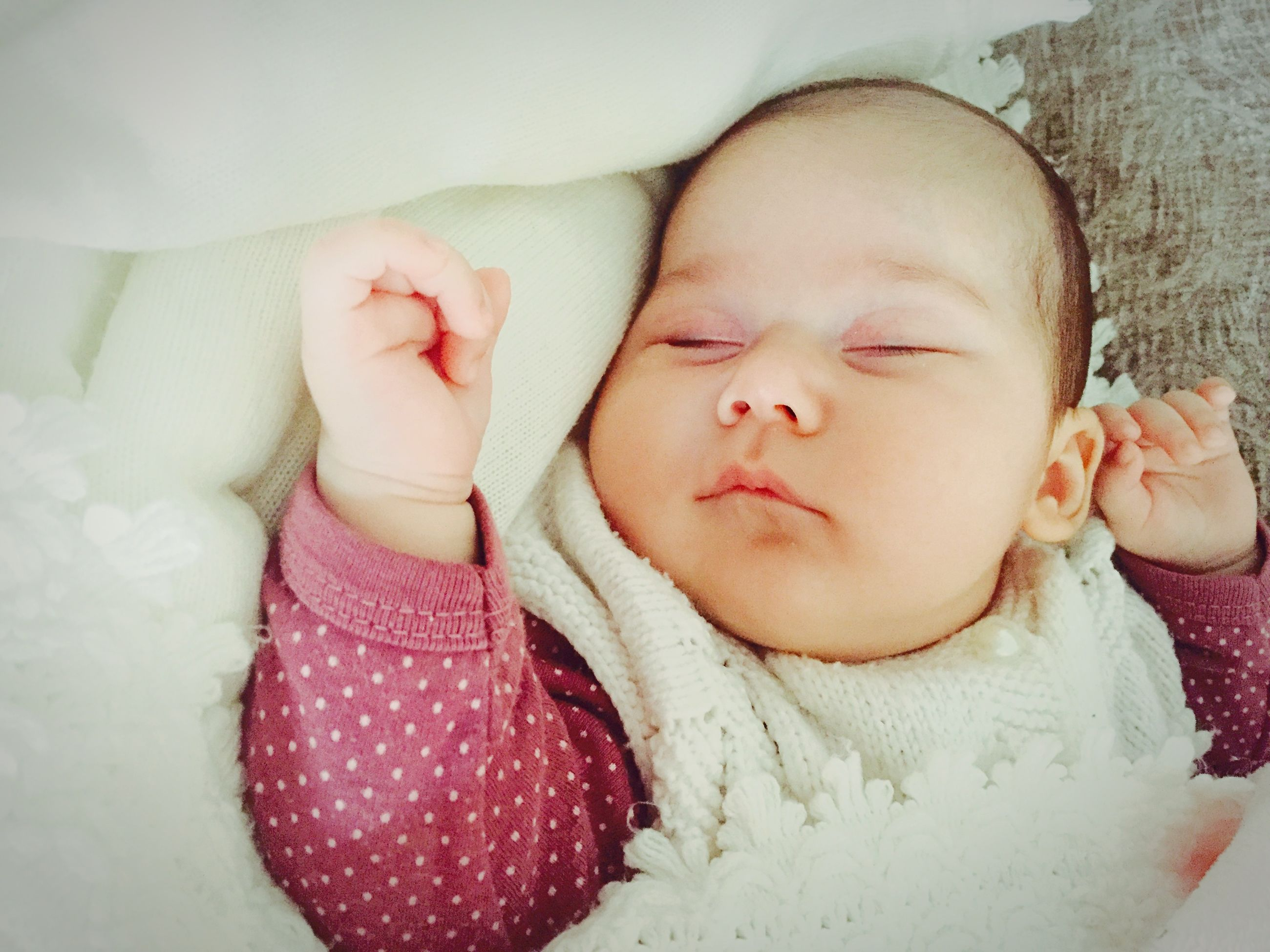 childhood, innocence, cute, baby, person, lifestyles, relaxation, babyhood, elementary age, leisure activity, toddler, girls, lying down, bed, sleeping, eyes closed, indoors, unknown gender