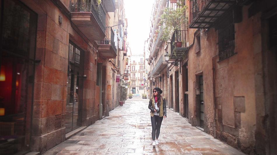 Barcelona Barrio Gótico City City Life Europe Trip Town Travel Walkway First Eyeem Photo