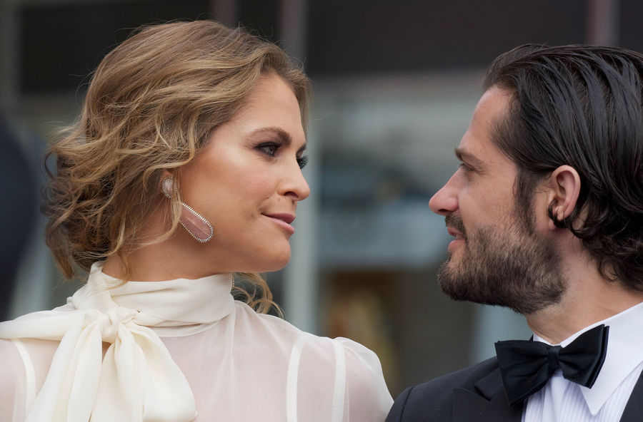 H.K.H. Price Carl Philip and H.K.H Princess Madeleine of Sweden Bernadotte Brother And Sister ♥ H.K.H. Prince Carl Philip H.K.H. Princess Madeleine Polar Music Prize Real People Royal Family Sweden Stockholm, Sweden Togetherness Two People