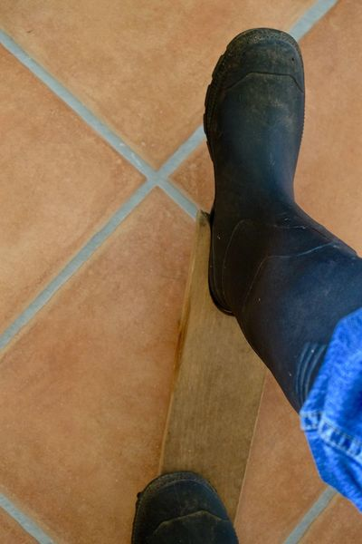 Close-up Eye4photography  Flooring Gumboots Part Of Personal Perspective Rubber Boots Shoe Standing Taking Pictures Wellington Boots Welly Welly Walk