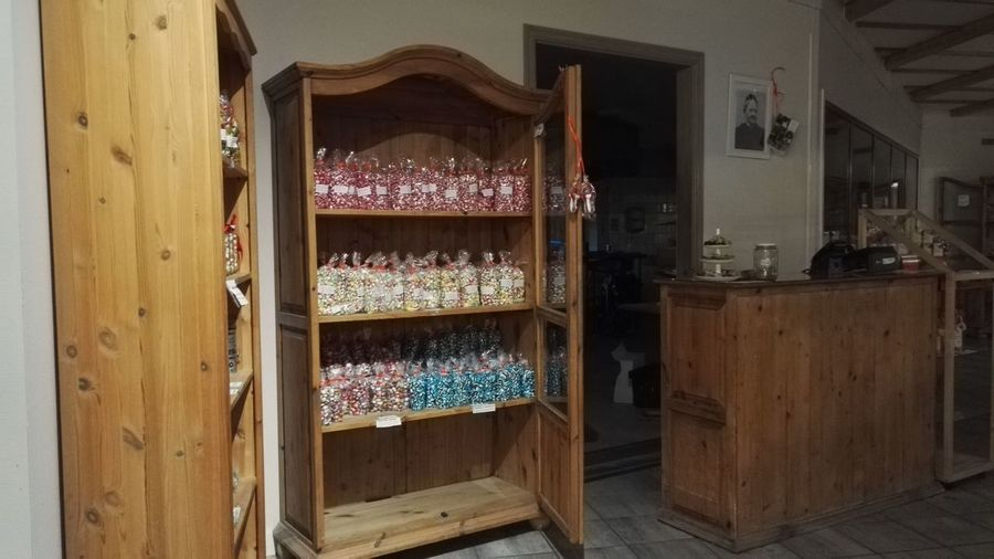 Polkagrisar Candy Cupboard For Sale Indoors  Large Group Of Objects No People No People, Polkagris Store Sweet Food
