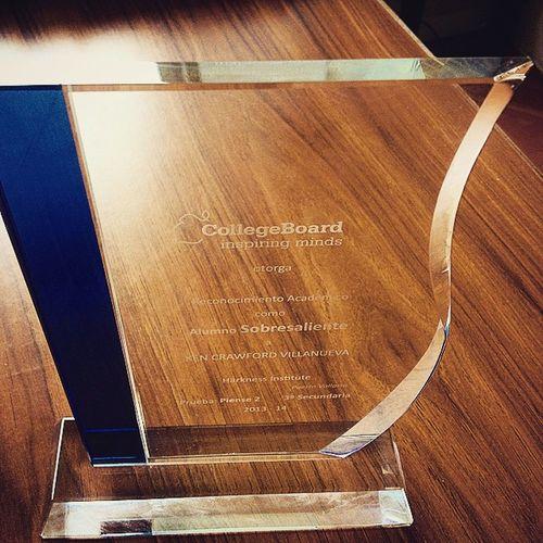 Justsayin Collegeboard Prize Alumnosobresaliente Noestoypresumiendo Premio