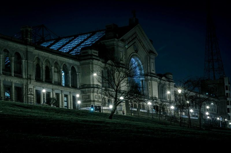 Alexandra Palace London Night Photography