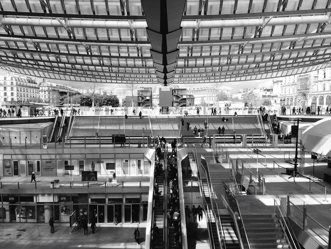 Canopée Les Halles Eyeemphotography Eye4photography  Street Photography EyeEm Best Shots Open Edit EyeEmbestshots EyeEm Masterclass EyeEm Best Edits EyeEm Gallery Streetphotography Pariscape Paris Shootermag Blackandwhite Black & White Black And White Blackandwhite Photography