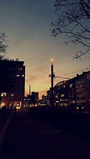 Sonnenuntergang ⛅️✨