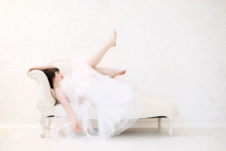 EyeEm Selects One Person White Color Full Length Ballet Indoors  Women Elégance Young Adult Adult Dancing Ballet Dancer Wall - Building Feature Limb Beauty Young Women Performance Skill  Fashion Human Arm Ballet Shoe