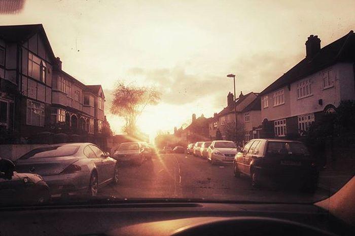 Sunset (Day 18 of 366) Sunset Glow London Snapseedaily Nickblak