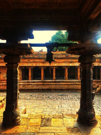 temples of south India❤️❤️ No People Day Illuminated Sunlight Indoors  Built Structure History Architecture Sculpture Statue Architectural Column