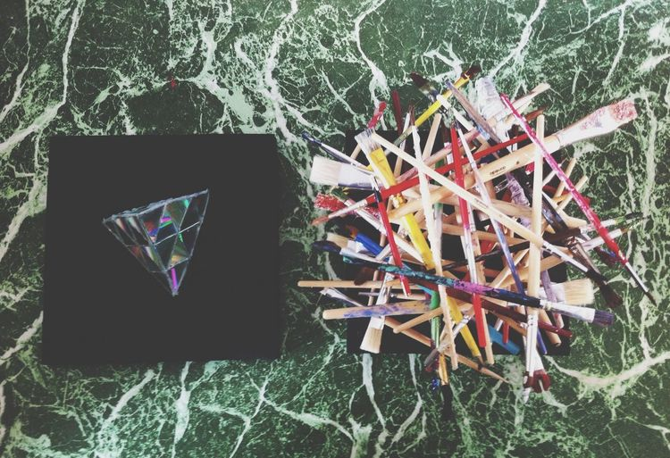 Hanging Out Art Dem Triangles △▽△