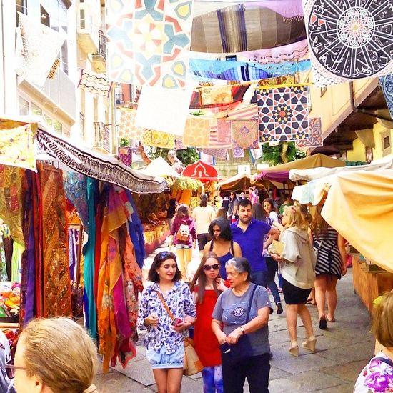 @nunotecnologias en un viaje al pasado en la feria medieval del corpus Ourense Corpus Nunotecnologias Feriamedieval paseo! Jajaja