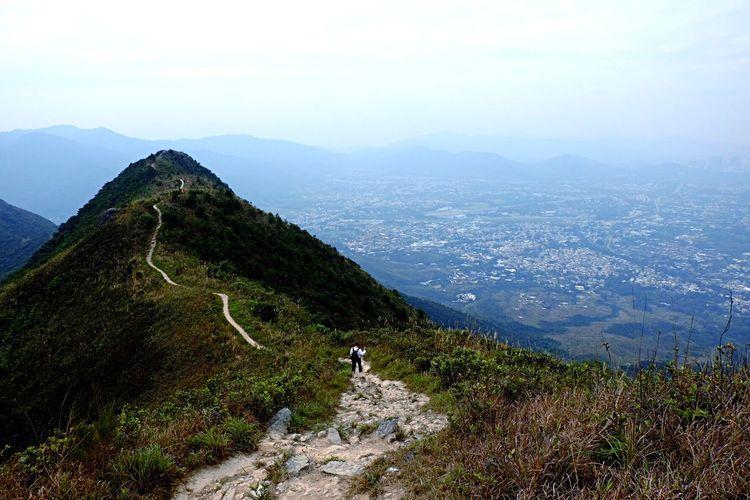 Fujifilm Xm1 XC1650 16mm Mountain HongKong Taitoyanpath