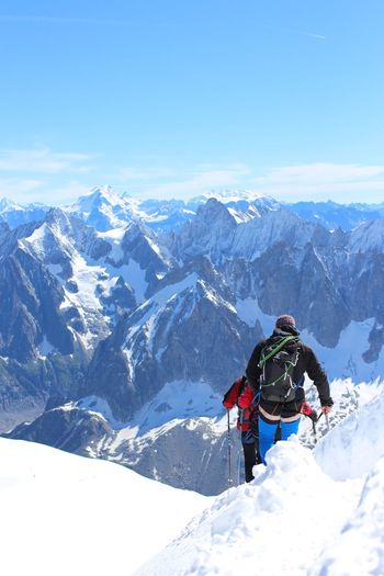 Chamonix-Mont-Blanc Mountains Climbing Climbing A Mountain Myview Myyearmyview My Year My View The Great Outdoors - 2017 EyeEm Awards The Great Outdoors - 2017 EyeEm Awards