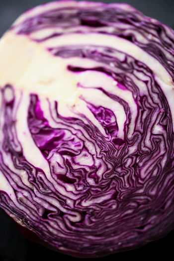 Purple cabbage Food And Drink Purple Cabbage Food Healthy Eating Freshness Raw Food Vegetable Close-up No People Indoors  Halved Pattern Organic Still Life Vegetarian Food