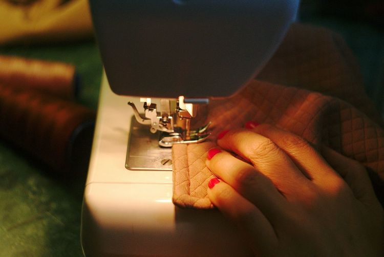 sewing 1 Fashion Designer  Human Hand Manufacturing Equipment Sewing Textile Sewing Machine Machinery Women Textile Industry Human Finger Electrical Equipment Sewing Needle Tailor Dressmaker's Model