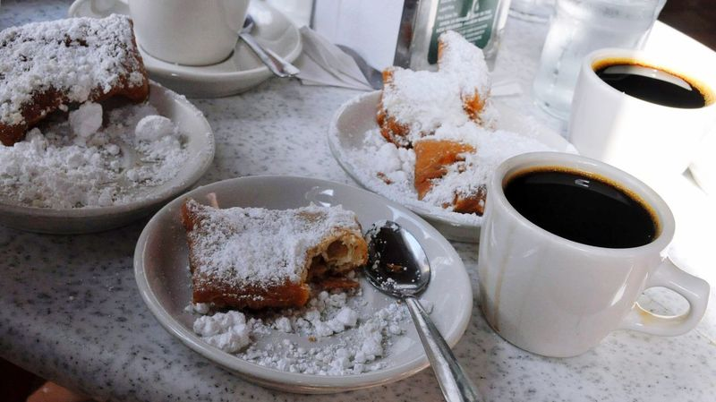 My World Of Food Beignet Beignets Chicory Coffee New Orleans NOLA