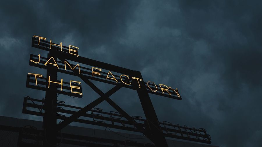 The Jam Factory in Thailand Neon Cloud - Sky Low Angle View Sky Architecture Nature Communication Text