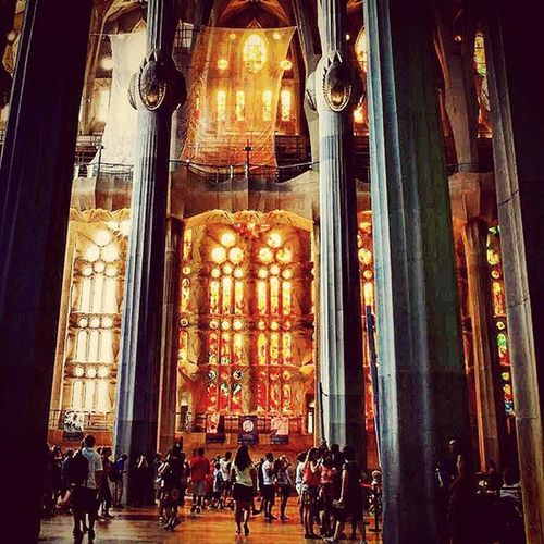 Again and again and again the never ending source of inspiration Segradafamilia Cathedral Cathederalphotography Lightandshadow Barcelona Barcelone Catalonia SPAIN History Abstractdesigns Awesomedesign Sourceofinspiration Beingatourist  Eyeforbeauty Eyeforbeautyphotographs Photographyislifee Eyeforphotography TakingAShot