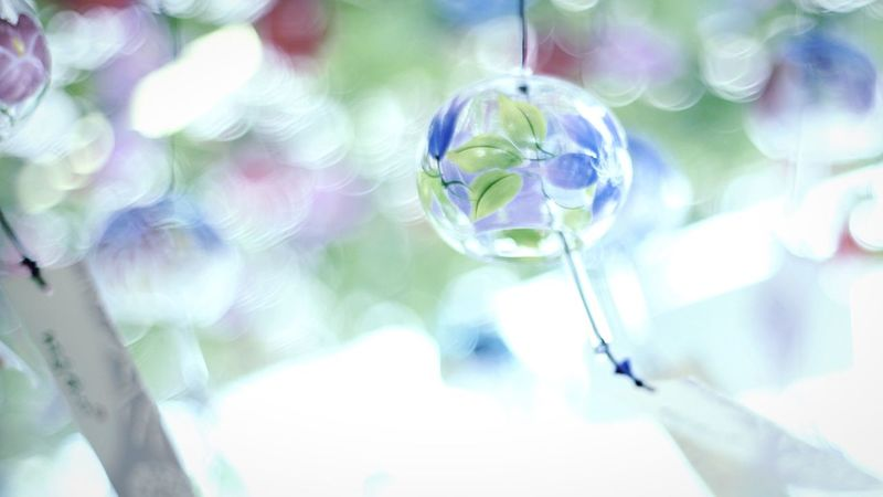 Summer in Japan Wind-bell 夏 風鈴