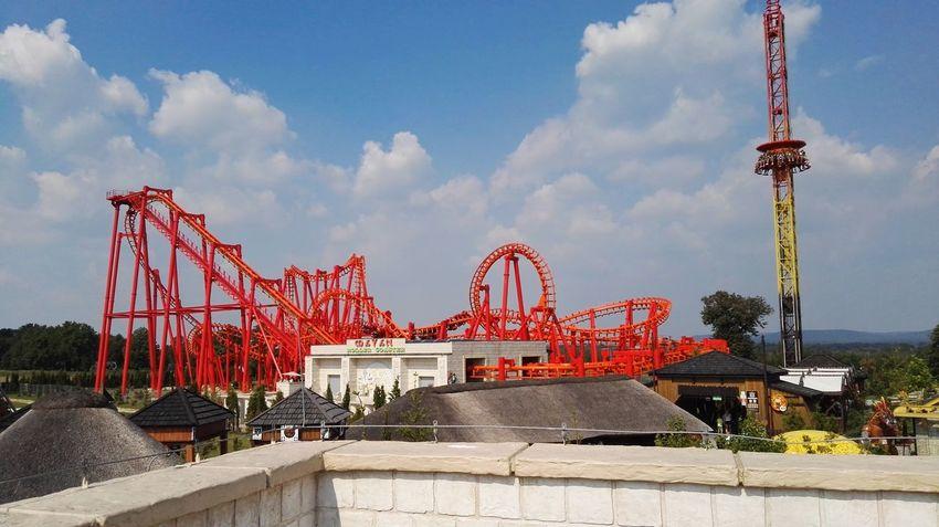 Energylandia Rollercoaster Near To Oswiecim Zator, Poland Huwei P8