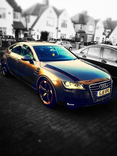 Welcome To Black Audi Audi A7 Sports Car Car Modified Car Tadaa Community