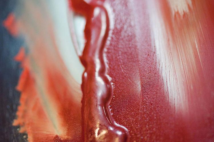Detail shot of ice cream